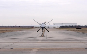 MQ-9 Reaper takes flight in Houston
