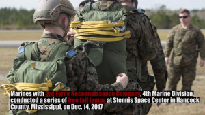 3rd Force Reconnaissance Company Parachute Operations Training