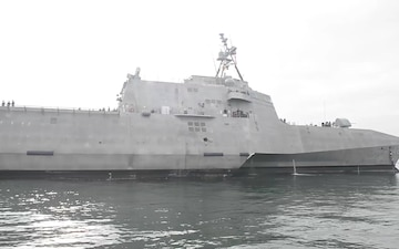 Future USS Omaha (LCS 12) Arrives at New Homeport San Diego