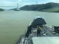 Future USS Omaha (LCS 12) Transits the Panama Canal
