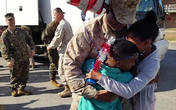 Task Force Southwest Marines, sailors return from 9-month Afghanistan deployment