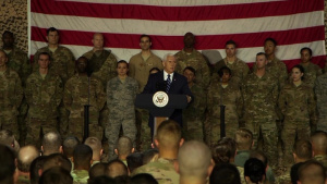 Vice President Mike Pence's speech at the 332nd Air Expeditionary Wing