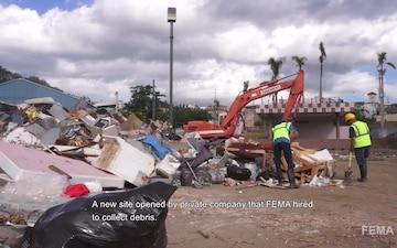 Debris Removal in Corozal