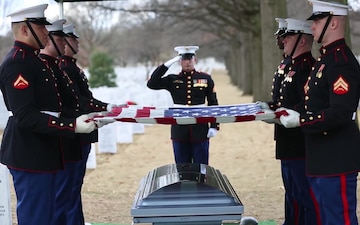 Master Sgt. Catherine G. Murray Funeral
