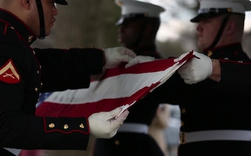 First Female Marine to Retire Laid to Rest