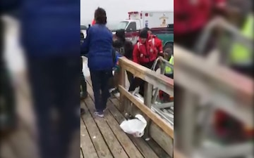 Coast Guard rescues 4 from water after boat capsizes near Eastport, Maine