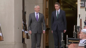 Mattis Welcomes British Counterpart
