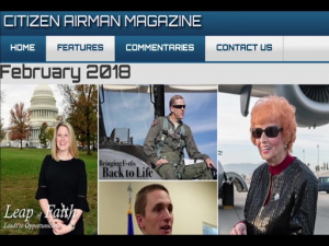 Citizen Airman February Issue Promo
