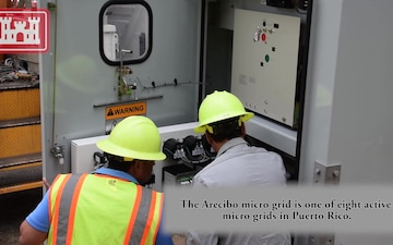 Arecibo Micro Grid - Powered Up