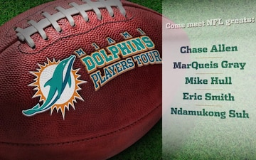 Miami Dolphins Players Tour TV spot
