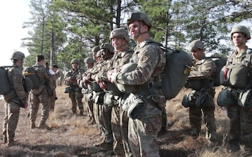 82nd Airborne Division conducts proficiency jump operations