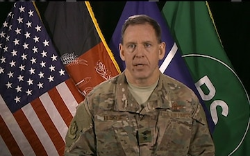 Resolute Support Air Commander Updates Press