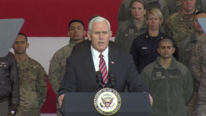 Soundbite Prime Cuts from Vice President Mike Pence's Remarks at Yokota Air Base