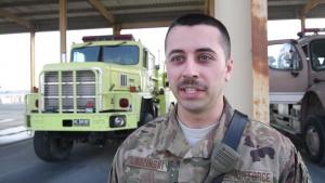 Interview: Staff Sgt Andrew Ladzinski, 148FW Firefighter