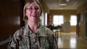 Interview: Tech Sgt. Kari Johnson, Chaplain's Assistant