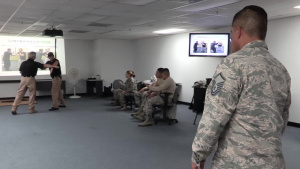 PATRIOT South 18 Security Forces Edged Weapon Training