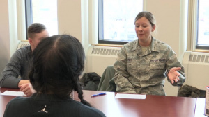 Speed Mentoring at the 180th Fighter Wing