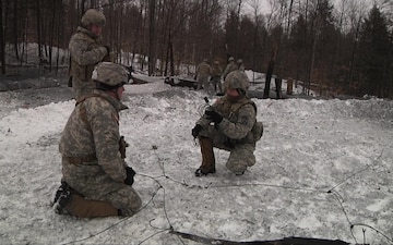 Vermont Engineers Construct Demolition Firing System