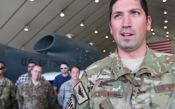 BROLL: Air Force RQ4 Global Hawk Reaches 20k Hours