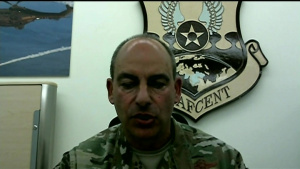 Air Forces Central Commander Briefs Pentagon Reporters