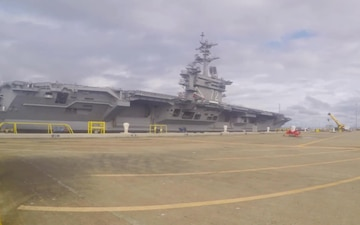 USS Abraham Lincoln (CVN 72) successfully completes incline experiment