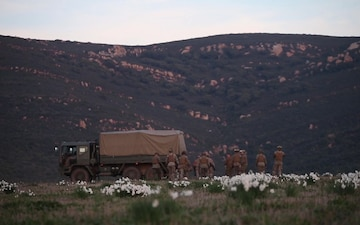 U.S. Marines join Spanish in amphibious exercise