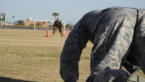 Air Force vs Marines CFT Event