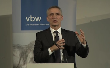 NATO Secretary General Attends the Munich Security Conference, Press Conference