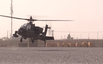Apache helicopter Afghanistan refuel