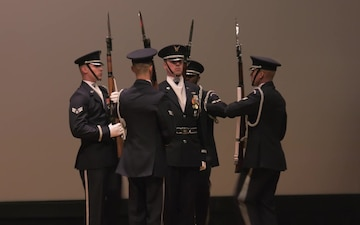 United States Air Force Honor Guard Drill Team Camp on Keesler