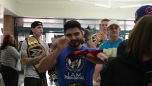 AJ Styles Visits Luke AFB