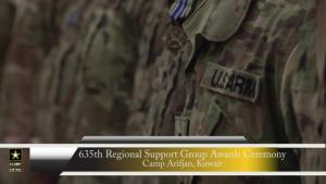 Spotlight: 635th Regional Support Group Awards Ceremony