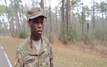 Sgt. Jalen Portis – 155ABCT - Soldier Spotlight