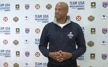 TeamUSAFest Willie Banks Interview
