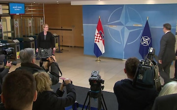 Visit to NATO by the Prime Minister of the Republic of Croatia, Bilateral Meeting