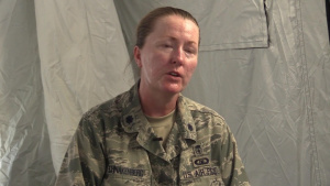 Cope North 2018, Interview with Lt. Col. Michelle Schnakenberg