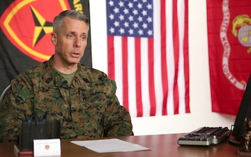 Sgt. Maj. Dennis Bradley prepares to take over as 3rd Marine Division sergeant major