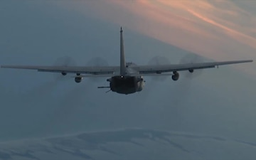 AC-130 In-flight 2