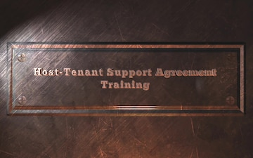 Host-Tenant Support Agreement Training Video