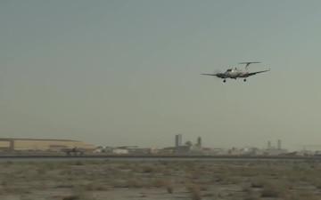 MC-12 Liberty landing 1