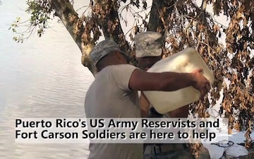 Army engineers assist civil authorities repair damn in Puerto Rico