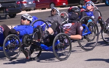 Cycling Competition at the 2018 Air Force Warrior Game Trials