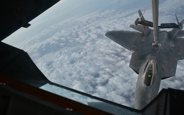 BROLL: KC-10 Rocks at Refueling