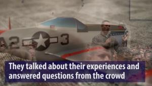 Tuskegee Airmen Visit