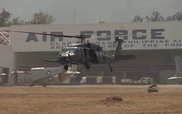 HH-60G Pave Hawk landing 3
