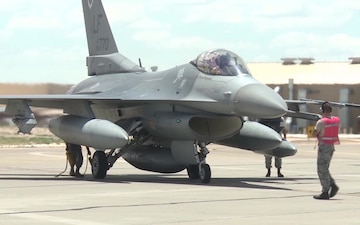 F-16 On the Flight Line