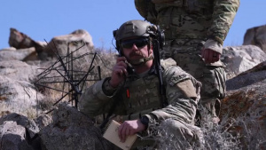 JTAC training at Fort Irwin National Training Center