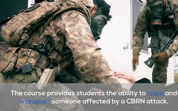 SOF Medics conduct CBRN training at ISTC