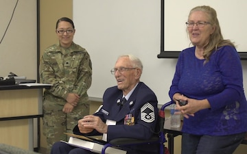 World War II Bataan Survivor: Retired Chief Master Sgt. Howard Bergbower