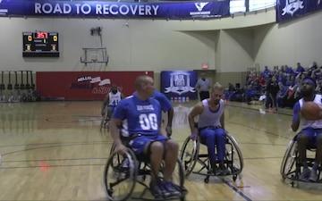 Air Force Warrior Trials Wheelchair Basketball Tournament